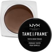 NYX PROFESSIONAL MAKEUP Tame & Frame Brow Pomade Black