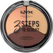 NYX PROFESSIONAL Makeup 3 Steps To Sculpt Medium