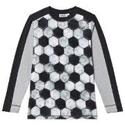 Molo Raso T-Shirt Football Structure 92 cm (1,5-2 år)