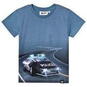 Molo Raven T-Shirt Self-Driving Police 98 cm (2-3 år)