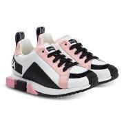 Dolce & Gabbana Branded Chunky Sneakers White and Pink 28 (UK 10)