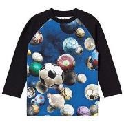 Molo Remington T-Shirt Cosmic Soccer Balls 92 cm (1,5-2 år)
