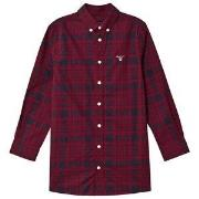 GANT Small Shield Shirt Red & Navy 122-128cm (7-8 years)