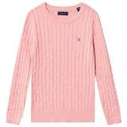 GANT Cable Knit Sweater Pink 122-128cm (7-8 years)